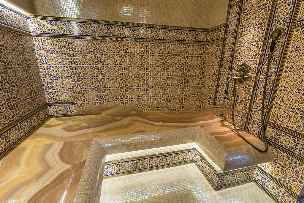 Турецкая баня как это сделано 642